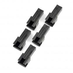 2-pin 2,50mm female