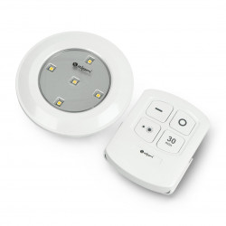 Lampa LED ML9000B podszafkowa z włącznikiem dotykowym oraz pilotem