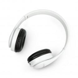 Bezprzewodowe słuchawki Esperanza Banjo - białe