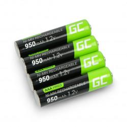 Akumulator Green Cell HR03 AAA Ni-MH 950mAh - 4szt.