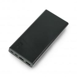 Mobilna Bateria PowerBank Green Cell PowerPlay20 20000mAh 2x USB Ultra Charge oraz 2x USB C - czarny