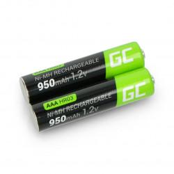 Akumulator Green Cell HR03 AAA Ni-MH 950mAh - 2szt.