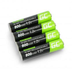 Akumulator Green Cell HR03 AAA Ni-MH 800mAh - 4szt.