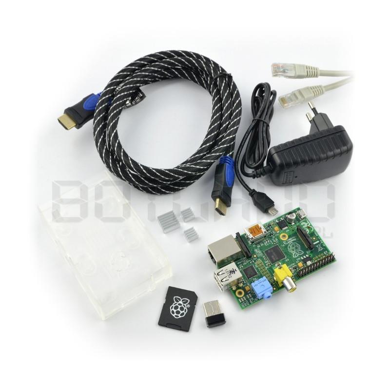 Zestaw Raspberry Pi model B - WiFi