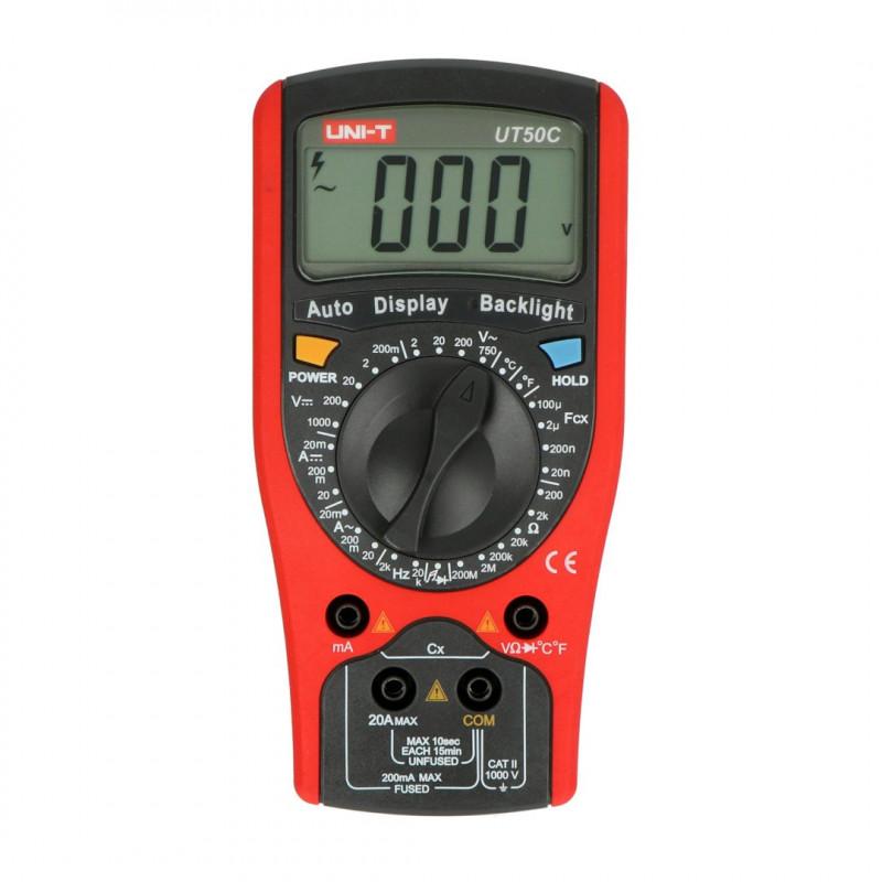 Universal multimeter UNI-T UT50C_