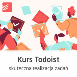 Todoist course - effective planning and execution of tasks - ON-LINE version