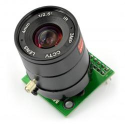 Moduł kamery ArduCam MT9D111 2MPx JPEG z obiektywem CS mount -