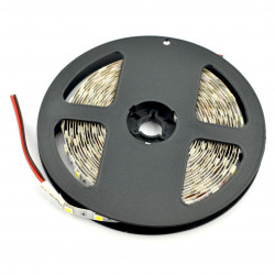 Strip LED SMD5050 IP20 14,4W, 60 LED/m, 10mm, cold white - 5m
