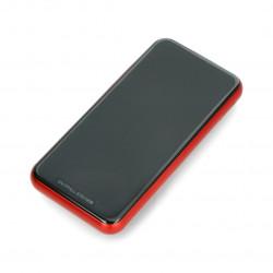 Mobilna bateria PowerBank Baseus 8000mAh WRLS - czerwony