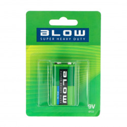 Bateria BLOW SUPER HEAVY DUTY 9V6F22 blister