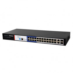 Hored PS3024S PoE switch 24 100Mbps ports + 2 1000Mbps ports