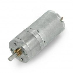 Metal DC Geared Motor - 6V 133RPM 4.5kg.cm