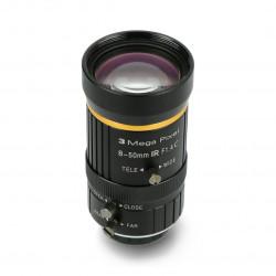 Lens 3Mpx 8-50mm C Mount - for Raspberry Pi camera - Seeedstudio 114992278