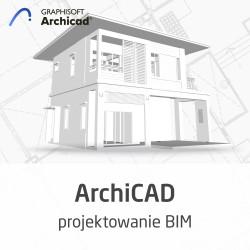 Kurs ArchiCAD - projektowanie BIM od podstaw - wersja ON-LINE