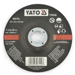 Metal grinding disc YT-6124