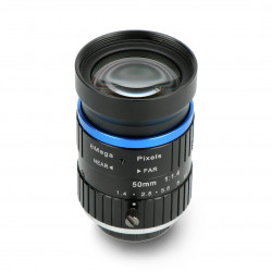 Teleobiektyw 50mm C mount 8MPx - do kamery Raspberry Pi - Seeedstudio 114992276
