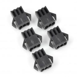 4-pin 2,50mm male