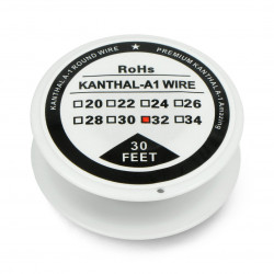 Kanthal A1 wire 0.20mm 44,7Ω/m - 30,5m