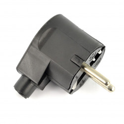 Plug WT-20-2 - black