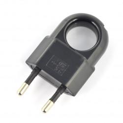 Plug WTP2C-2 - black