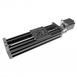 V-Slot linear guide C-Beam 250mm - black - set for self assembly