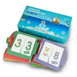 Mathematical Programming Cards for Qobo Robobloq robot