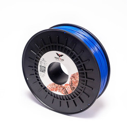 Filament Noctuo ABS 1,75mm 0,75kg - niebieski