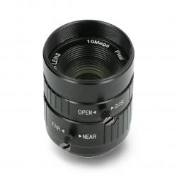 Narrow angle lens 10Mpx 25mm C Mount - for Raspberry Pi camera - Seeedstudio 114992274