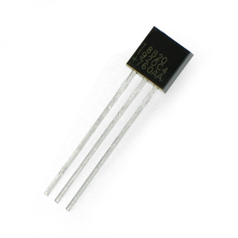 Temperature sensor DS18B20 - digital 1-wire THT*
