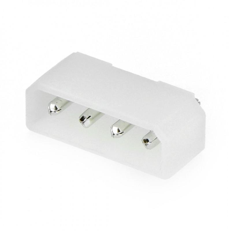 Plug 4-pin, pitch 5.08mm*