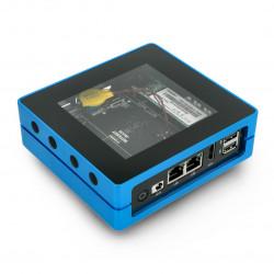 Odyssey Blue J4105 - Intel Celeron J4105+ATSAMD21 8GB RAM + 128GB SSD WiFi+Bluetooth + obudowa - Seeedstudio 110991412