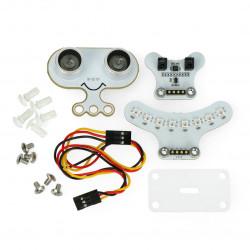 Ring:bit Car Accessories (Sonar:bit,Tracking Module and LED Light bar)