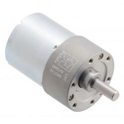 37Dx50L Motor with 10:1 Gear 24V 1000RPM - Pololu 4689
