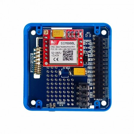 """DFRobot E-paper of 2.13"""" 212x104px - pad with tri-color display SPI for FireBeetle*"""