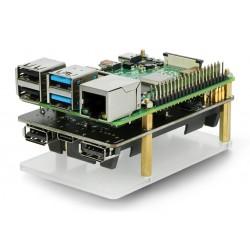 Kioxia Exceria microSD 16GB 100MB/s M203 UHS-I U1 Class 10 memory card with adapter