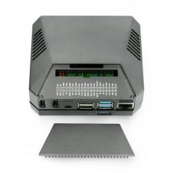 Obudowa do Raspberry Pi 4B oficjalna - czerwono-biała z wentylatorem