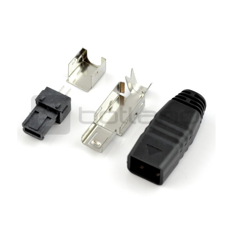 Type miniUSB plug for the cord