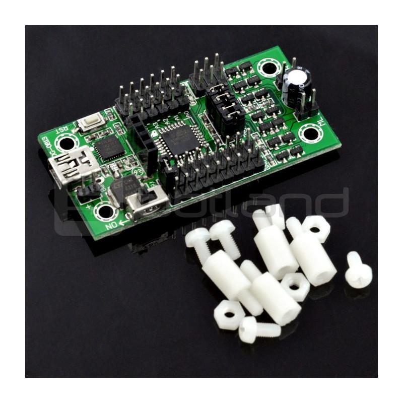 MiniDriver - kontroler AVR Atmega8A