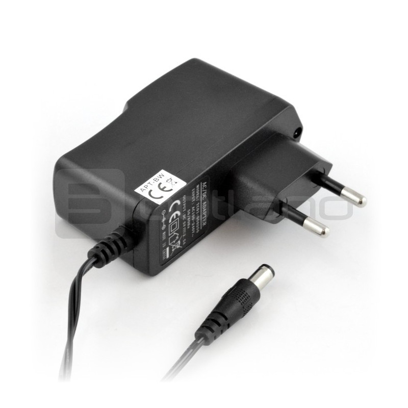 Switching power supply 12V/1A - DC 5,5/2,5 mm plug