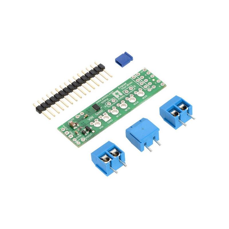 Pololu DRV8835 - dwukanałowy sterownik silników 11V/1,2A - shield dla Arduino