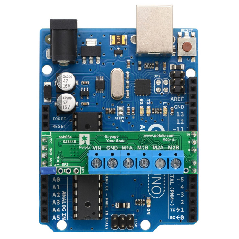 Sterownik silników a4990 w połączeniu z Arduino UNO