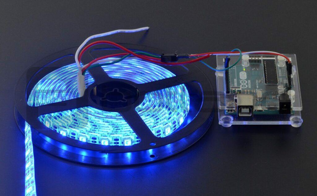 Arduino torównież ciekawe projekty ozdób