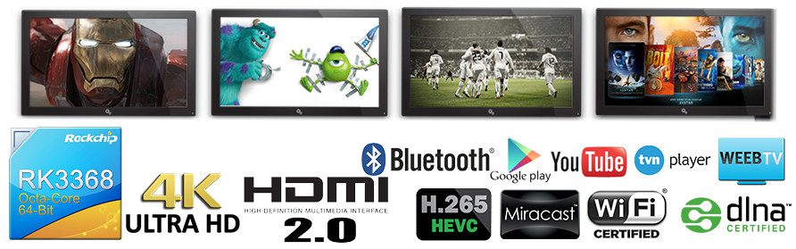 funkcje Android Smart TV