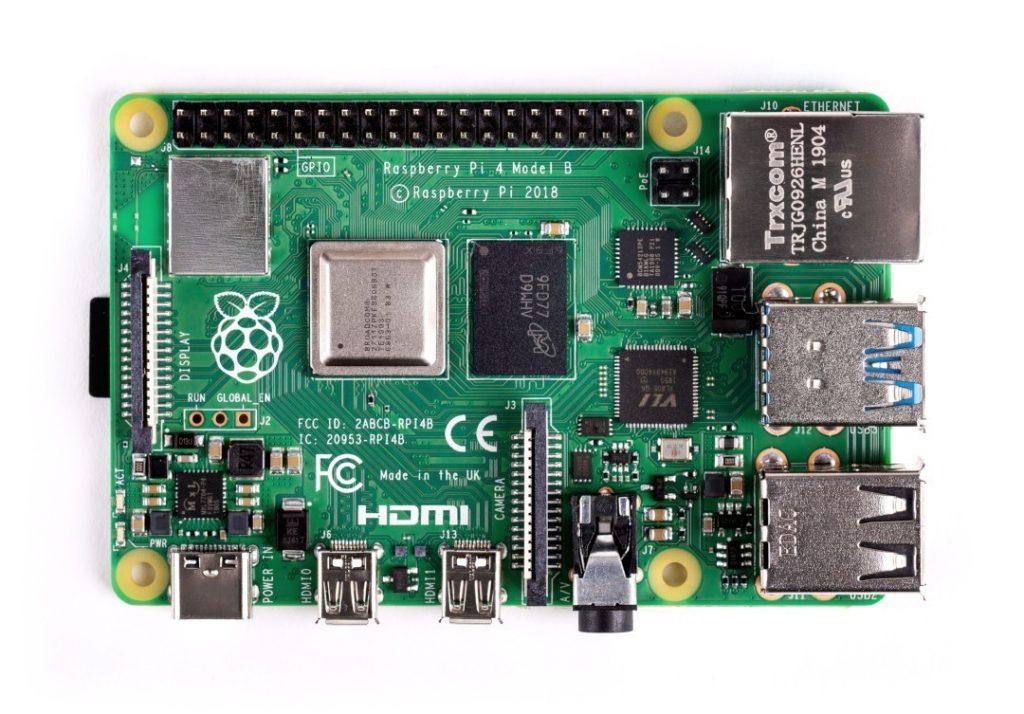 Minikomputer Raspberry Pi 4