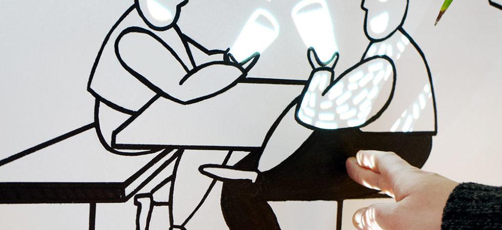Interaktywny mural
