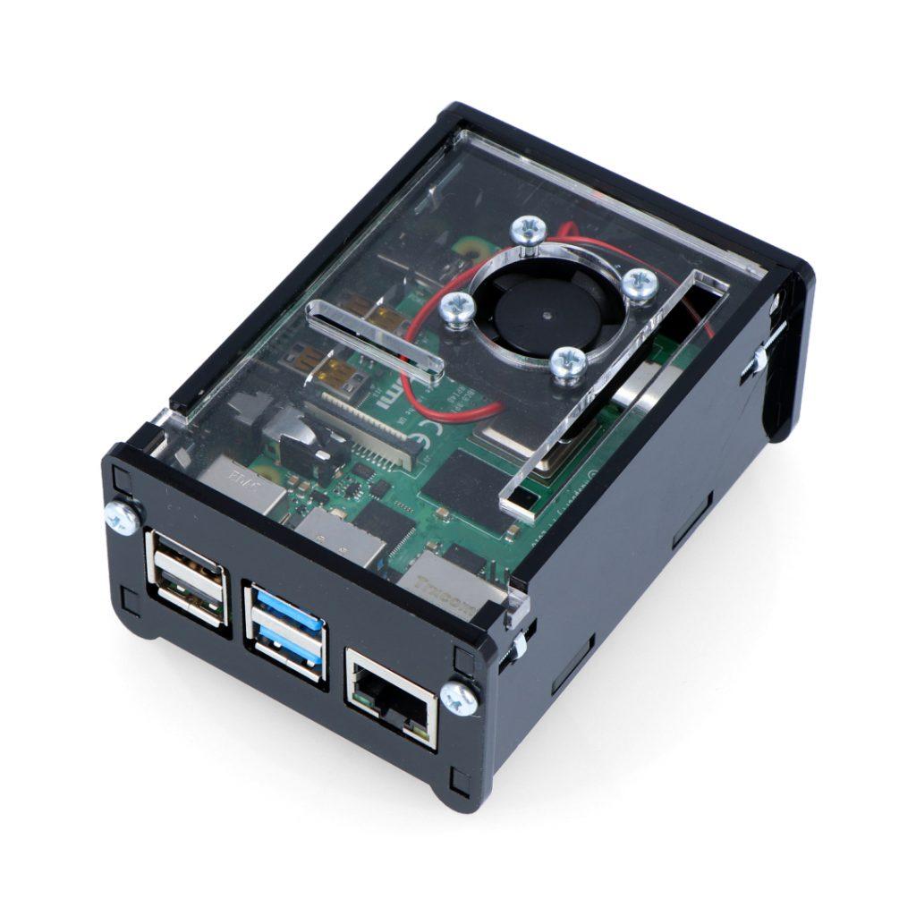 Chłodzenie Raspberry Pi 4B