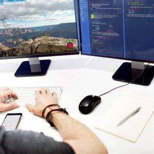 Konfiguracja monitorów Raspberry Pi 4B