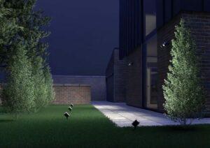 Inteligentny ogród - oświetlenie smart home
