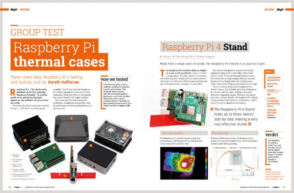 Raspberry Pi 4 obudowy chłodzące
