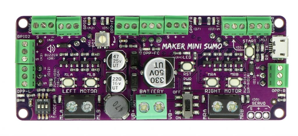 Kontroler robota Cytron Maker Mini Sumo